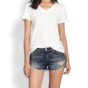 Rag & Bone cut off shorts - size 24